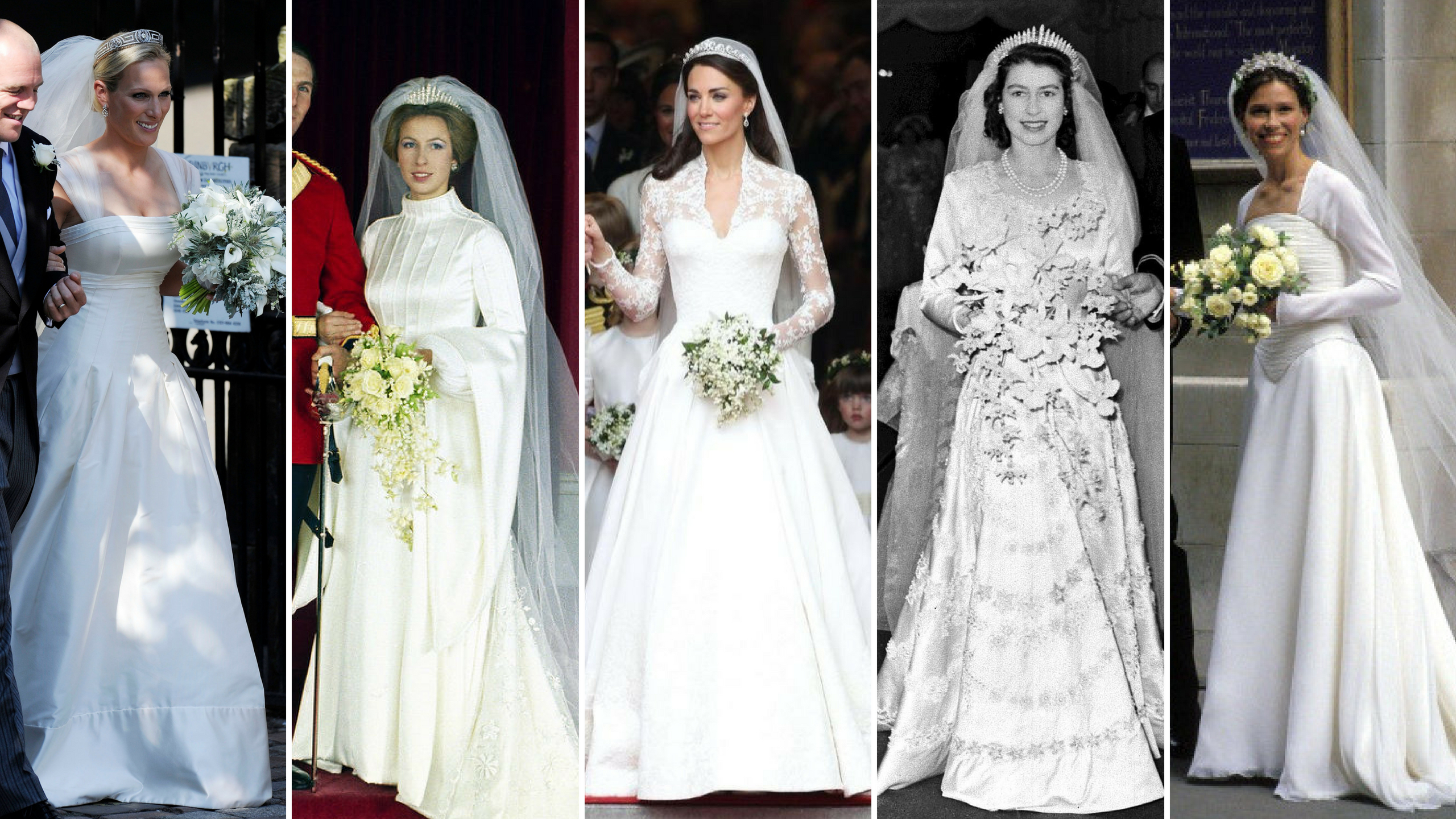 The best royal wedding dresses of the last 70 years - Replicate Royalty